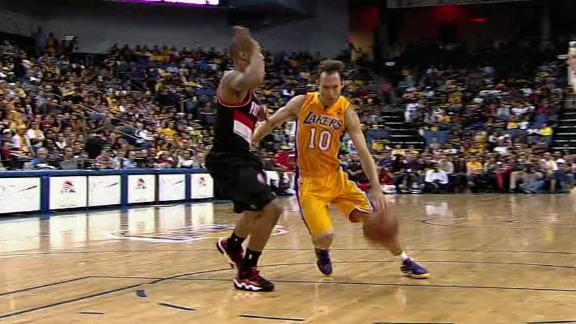 Video - Lakers Fall To Blazers