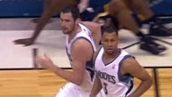 Video - Roy, Love Fuel Timberwolves
