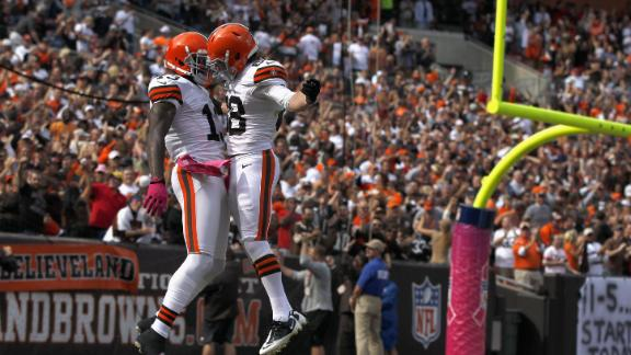 Browns snap 11-game skid, beat rival Bengals