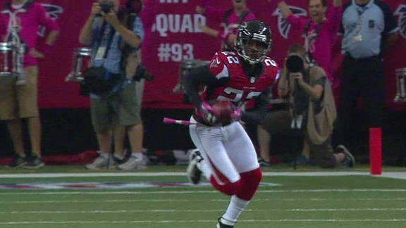 Falcons improve to 6-0 on Bryant's 55-yard FG