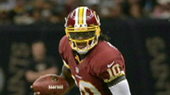 Robert Griffin III to start for Redskins