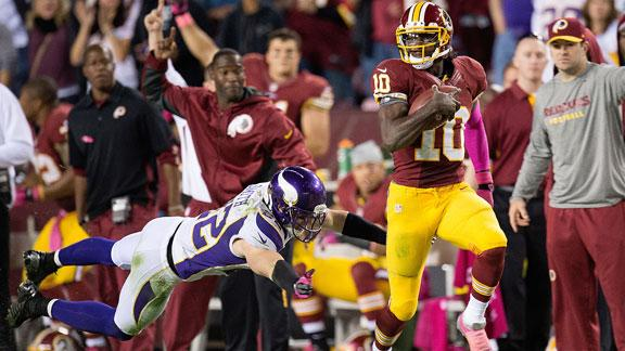 Video - Sunday Blitz: Vikings-Redskins Recap