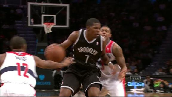 Nets defeat Wizards in first game in Brooklyn