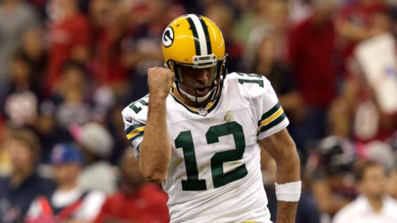 Video - Packers Hand Texans First Loss
