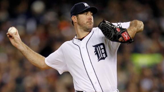 Verlander gem gives Tigers 3-0 lead vs. Yanks