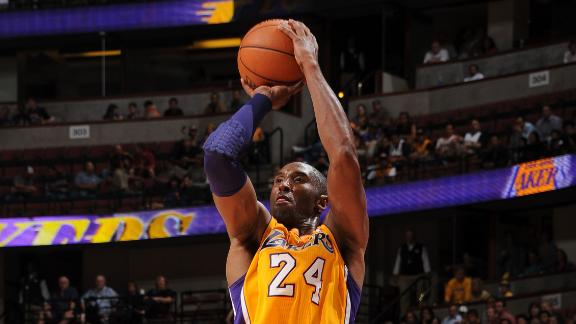 Jazz handle Lakers despite Kobe's 23-point third
