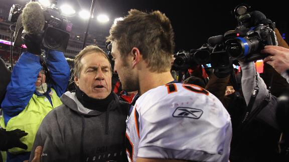 "Belichick: Tebow's a ""valuable guy"""