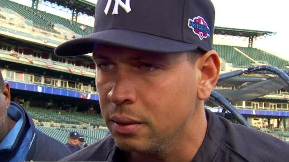 Video - A-Rod On Benching