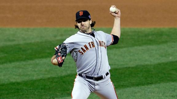 Zito dominates Cards as Giants win Game 5