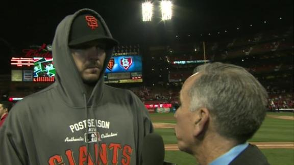 Video - Barry Zito After Game 5