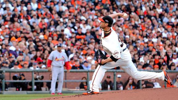 Video - Vogelsong Guides Giants Past Cardinals