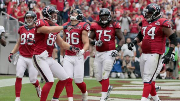 Texans trounce Ravens despite Suggs' return