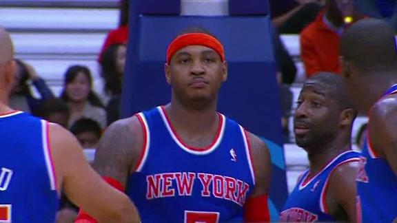 Video - Carmelo's Return To Syracuse Spoiled By 76ers