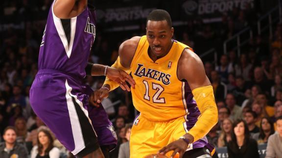 Video - Howard Solid In Lakers Debut