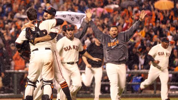 Video - Giants Rout Cardinals, Advance To World Series