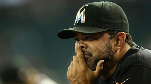 Embattled Guillen fired as manager of Marlins