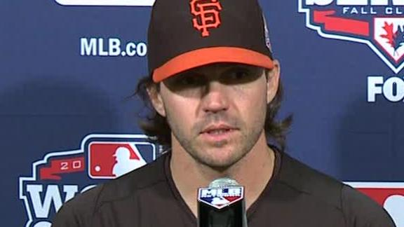 Zito to start Game 1 of World Series for Giants