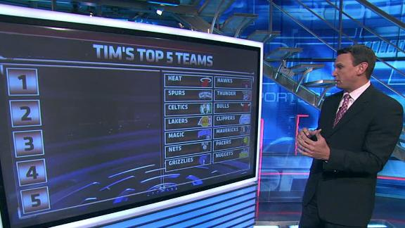 Video - Tim Legler's Top 5 NBA Teams