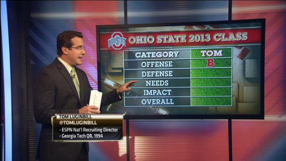Espn s tom luginbill grades ohio state s fifth ranked recruiting class