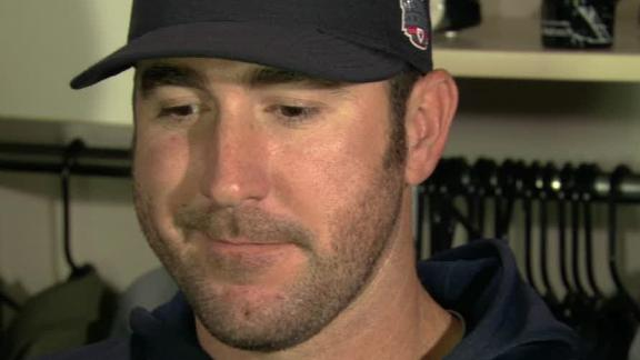 Video - Justin Verlander On Tigers' Loss