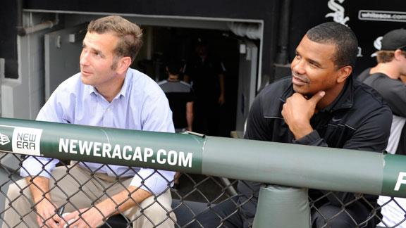 White Sox promote Hahn to GM, Williams to VP