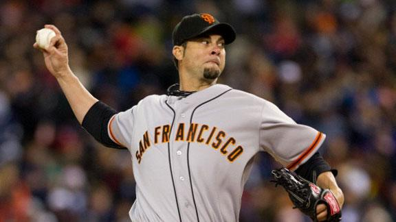Video - Giants Shut Out Tigers, Take 3-0 Lead