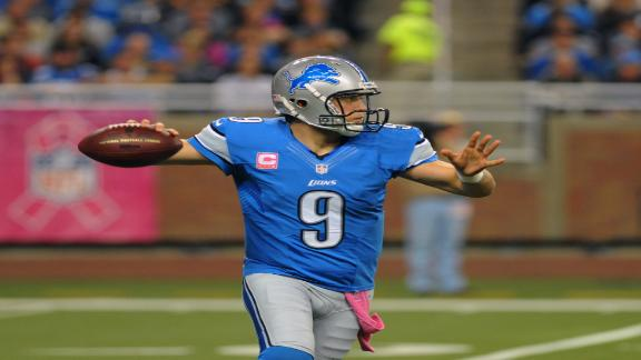 Video - Stafford Leads Game-Winning Drive