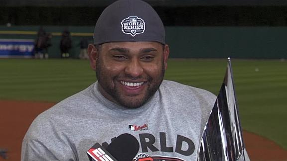Video - Sandoval Named WS MVP