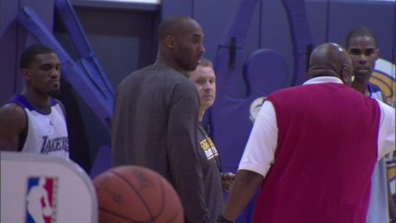 Kobe a game-time decision for Lakers opener