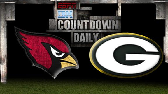 Video - Countdown Daily Prediction: Cardinals-Packers