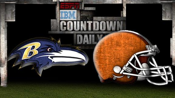 Video - Countdown Daily Prediction: Ravens-Browns