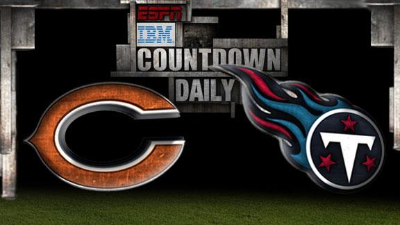 Video - Countdown Daily Prediction: Bears-Titans