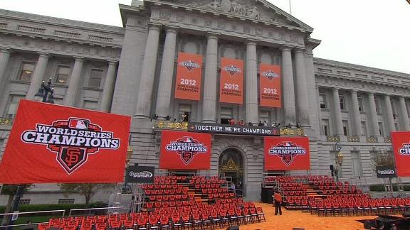 Video - Giants Hold Celebration Parade