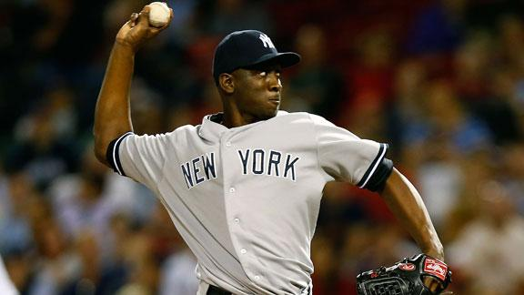 Yanks P Soriano opts out, becomes free agent