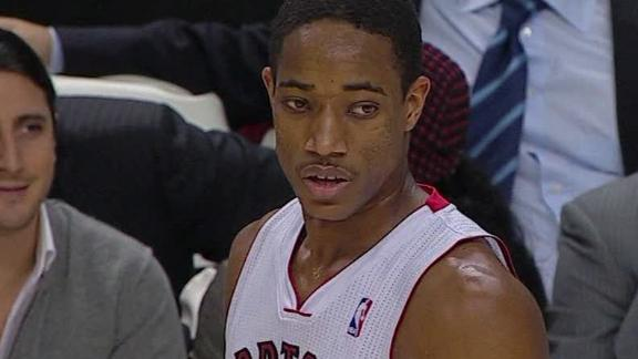 Sources: DeRozan, Raptors agree to $40M deal