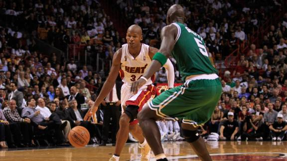 Video - OK With Garnett's Snub Of Ray Allen?