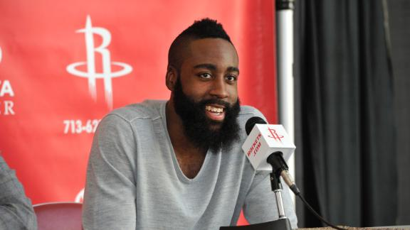 Harden receives $80 million deal from Rockets