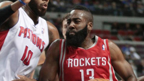 Video - Harden Scores 37 To Power Rockets In Debut