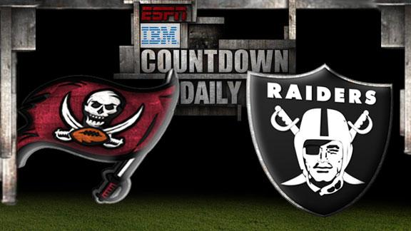 Video - Countdown Daily Prediction: Buccaneers-Raiders