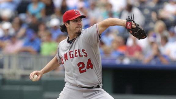 Source: Cubs have interest in Angels P Haren