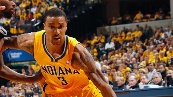 Hill, Pacers hold off Kings in double overtime