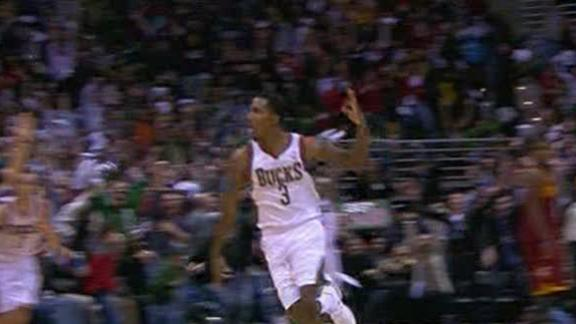 Video - Jennings Propels Bucks At Buzzer