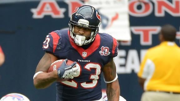 Schaub, Foster lift Texans past Williams' Bills