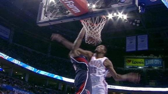 Video - Durant Dunked On