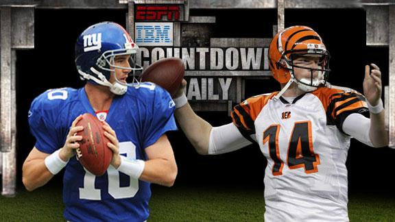 Video - Countdown Daily AccuScore: NYG-CIN