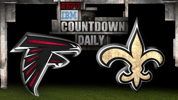 Video - Countdown Daily Prediction: Falcons-Saints