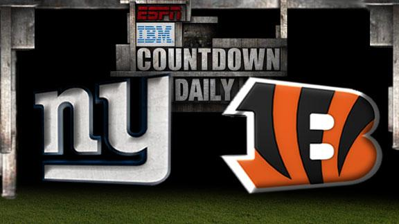 Video - Countdown Daily Prediction: Giants-Bengals
