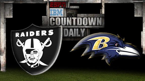 Video - Countdown Daily Prediction: Raiders-Ravens