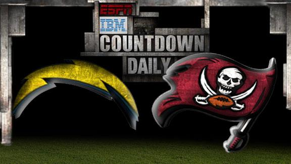Video - Countdown Daily Prediction: Chargers-Buccaneers