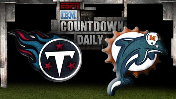 Video - Countdown Daily Prediction: Titans-Dolphins